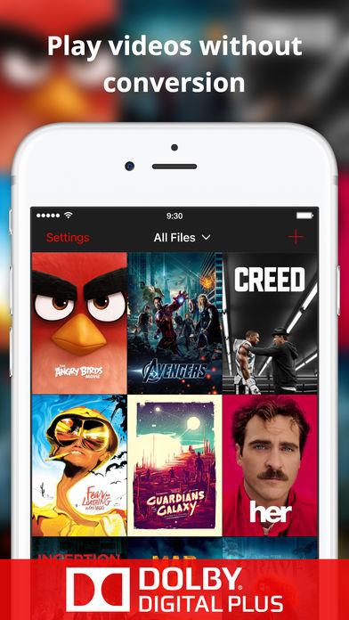 proplayer 1 - Miễn phí ứng dụng xem phim trên iOS cực hay ProPlayer, giá gốc 7,99USD