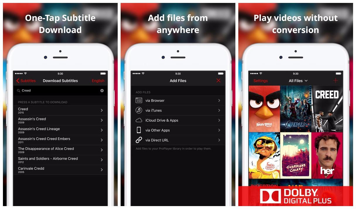 proplayer featured - Miễn phí ứng dụng xem phim trên iOS cực hay ProPlayer, giá gốc 7,99USD