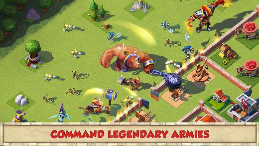 total conquest - Game mobile box #7: Manuganu, Battle Beach, Spartans vs Vikings...
