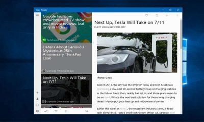 Veen Reader: Ứng dụng đọc tin RSS không quảng cáo trên Windows 10
