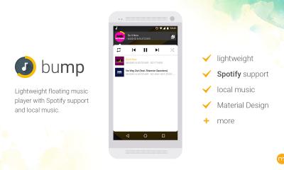 bump 400x240 - Ứng dụng phát nhạc bong bóng nổi trên Android