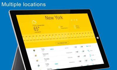 the weather 14 days 400x240 - Ứng dụng UWP dự báo thời tiết hơn 450 ngàn địa điểm trên thế giới