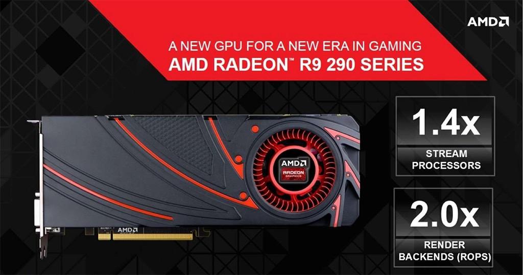 AMD ra mắt card đồ hoạ AMD Radeon R9 290X