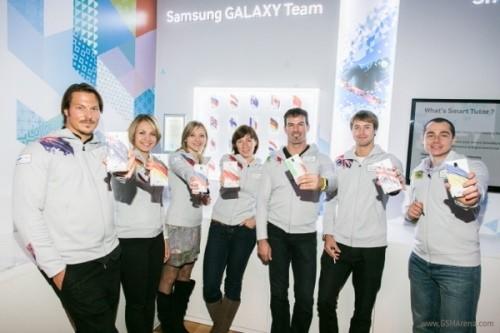Galaxy Note 3: Điện thoại chính thức của Olympic