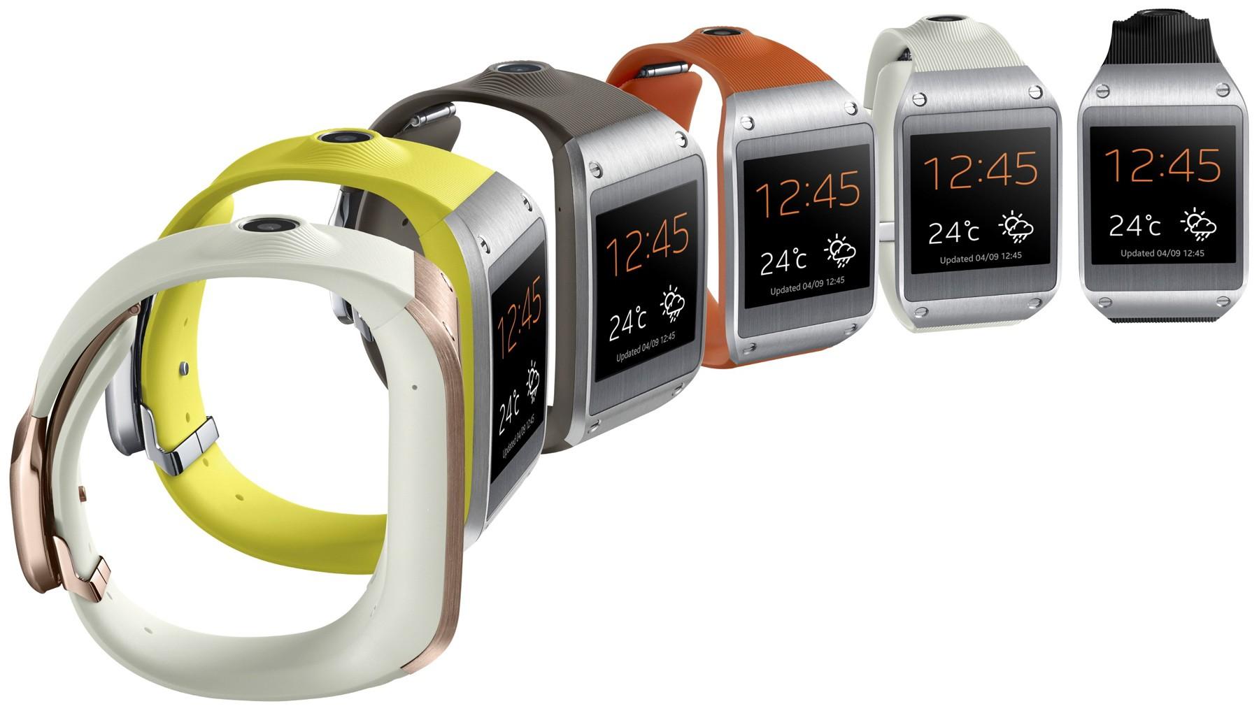 Galaxy Gear tương thích với Galaxy S III, S4, Note II