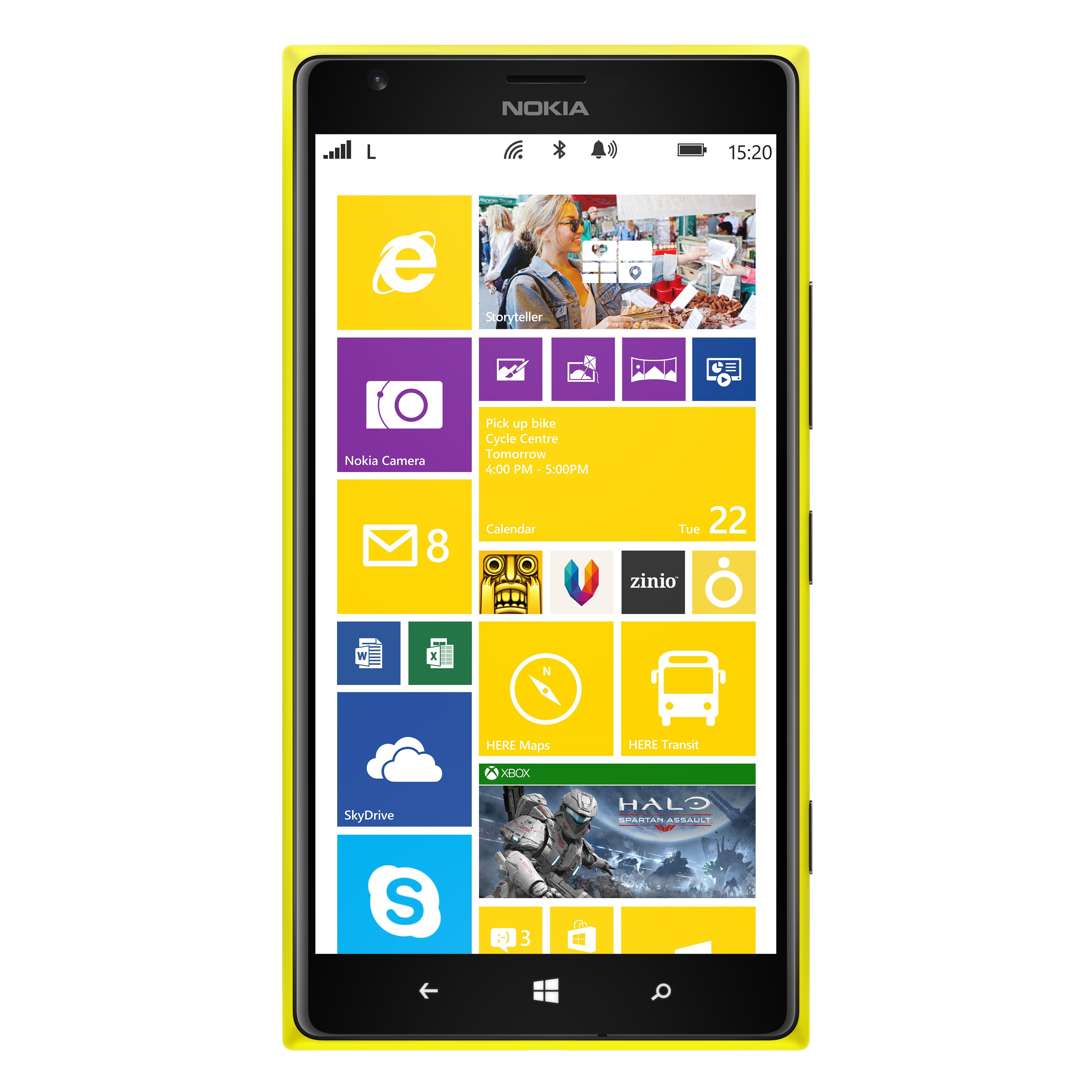 Khám phá siêu phẩm Lumia 1520