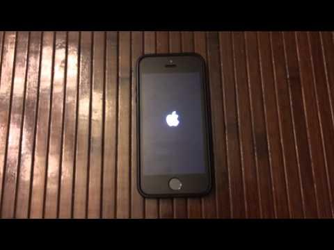 iPhone 5S dính lỗi màn hình xanh như Windows