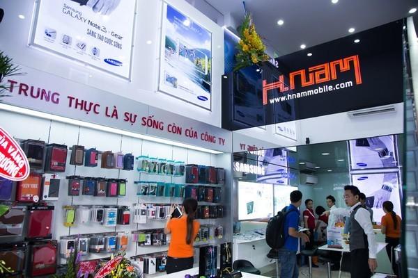 Hnam Mobile: Tưng bừng khuyến mại khai trương