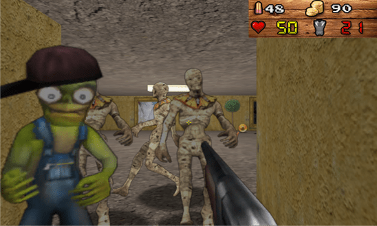 [WP8] 3D Zombienstein: Tựa game gây nghiện