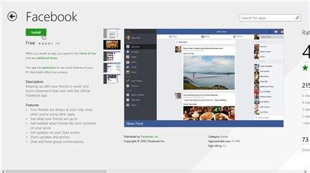 facebook windows8.1 - Ứng dụng / Game giảm giá miễn phí trên Appstore ngày 6/2/2014