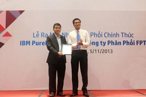 ibm - IBM PureFlex System sẽ do FPT phân phối