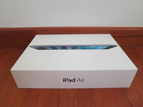 Mở hộp iPad Air