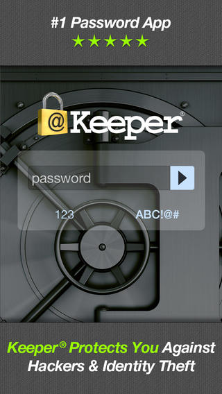 keeper 1 - [iOS] Keeper Password & Data Vault - Quản lý mật khẩu