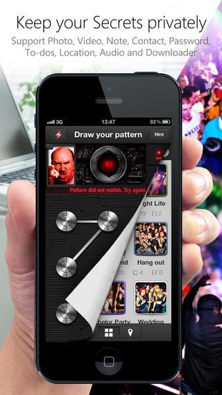 piclock 1 - [iOS] Pic Lock 3 - Giấu hình ảnh và video trong iPhone