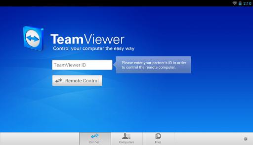 teamviewer 1 - TeamViewer cập nhật phiên bản 9.0 cho Android