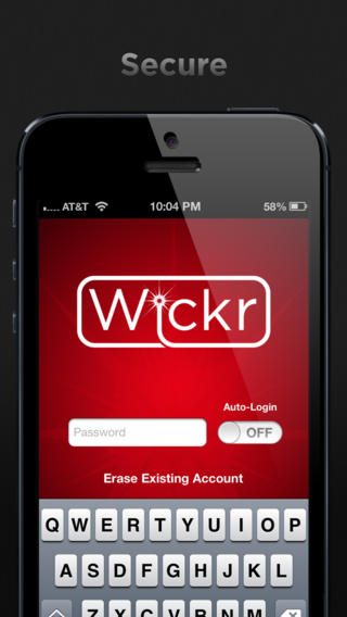 wickr 2 - [iOS] Wickr - Gửi tin nhắn tự hủy