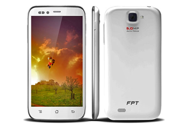 FPT F82 1 - FPT F82: Smartphone 5 inch, giá 3,4 triệu đồng