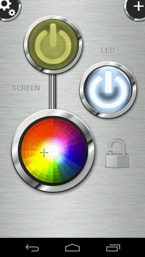 flashlight 1 - [Android - Miễn phí] Flashlight HD LED: Đèn pin cho Android