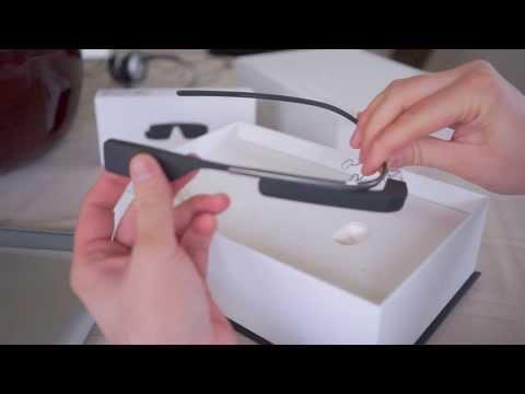 google glass v2 - Mở hộp Google Glass v2.0