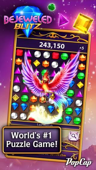 Bejeweled Blitz cập nhật phiên bản mới 15