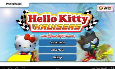hello kitty kruisers 1 400x240 - [Android] Hello Kitty Kruisers - Đua xe phong cách Hello Kitty