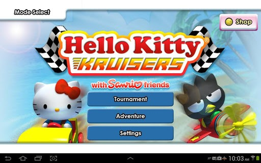 hello kitty kruisers 1 - [Android] Hello Kitty Kruisers - Đua xe phong cách Hello Kitty