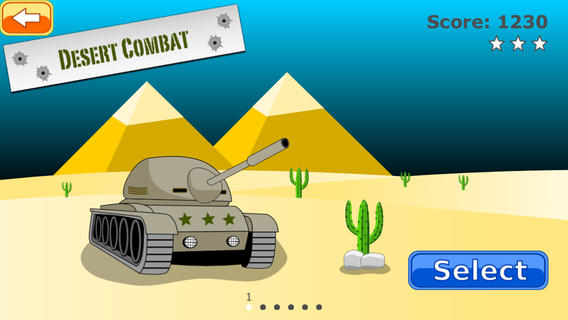[iOS] ComBat Tank - Bắn xe tăng 8