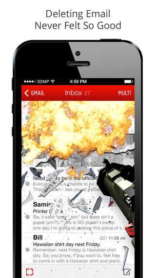 """[iOS] DestroyMail: """"Tuyệt chiêu"""" xóa thư rác 6"""