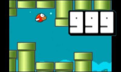 """flappy bird ending 400x240 - Cảnh """"Phá băng"""" Flappy Bird"""
