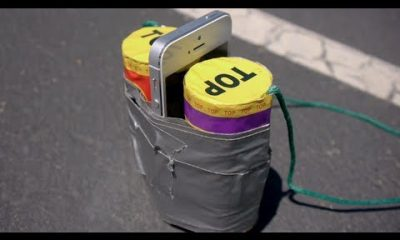 iphone 5 boom 400x240 - iPhone 5 ở giữa 2 quả pháo
