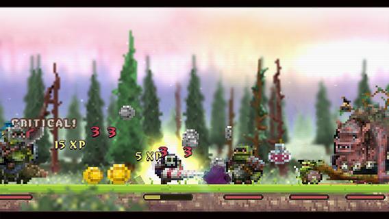 loot hero 1 - [iOS] Loot Hero: game nhập vai đồ hoạ pixel hấp dẫn