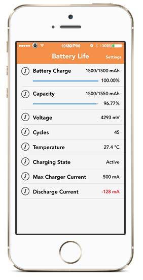 BatteryLife cydia iOS - BatteryLife: Hiện thông tin về pin cực nhanh