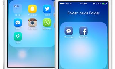 BetterFolders iOS 7 400x240 - BetterFolders: folder lồng folder trên iOS 7