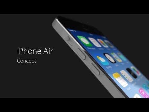 Mô hình tuyệt đẹp về iPhone Air 8