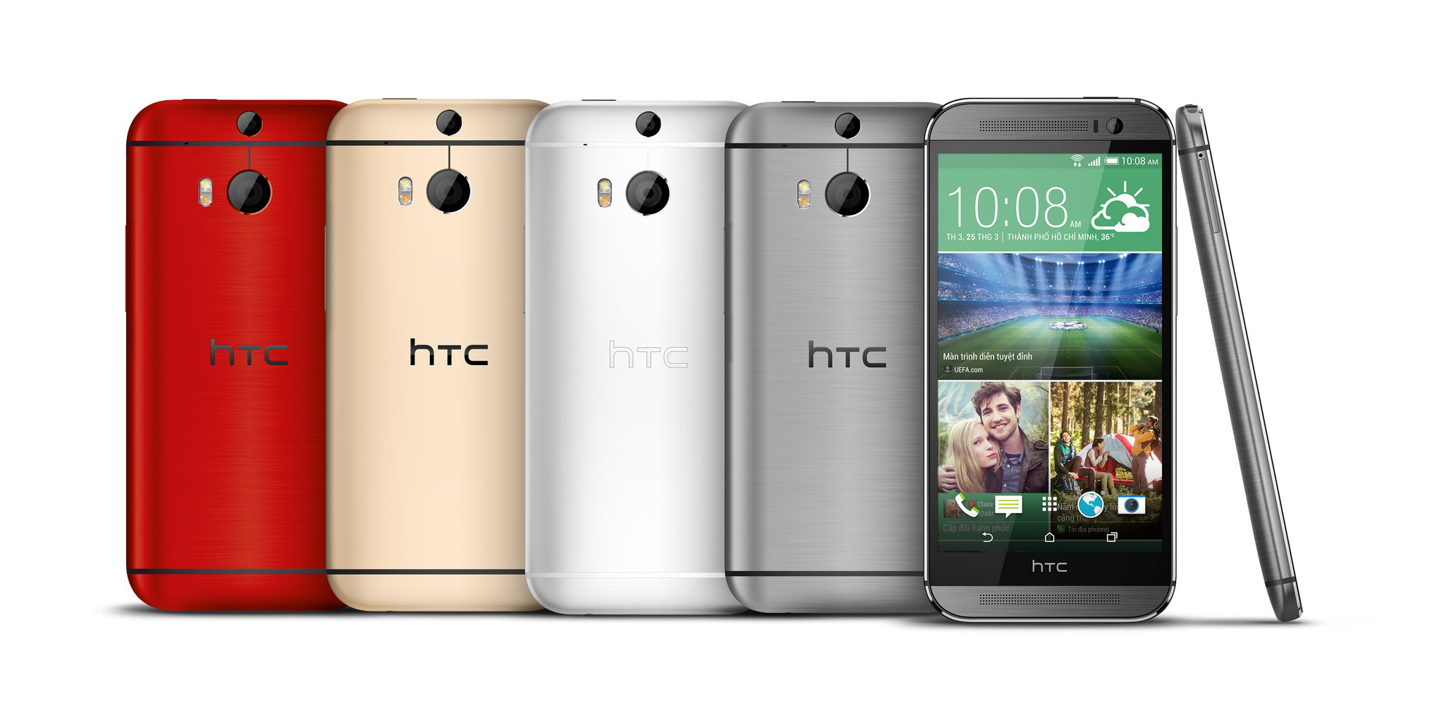 HTC One M8 - HTC One (M8) nhận bản nâng cấp cuối trước khi lên Android L