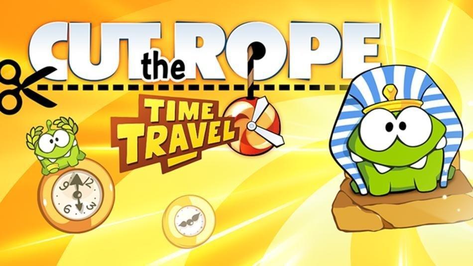cut the rope time travel  - Cut the Rope: Time Travel có bản cập nhật mới