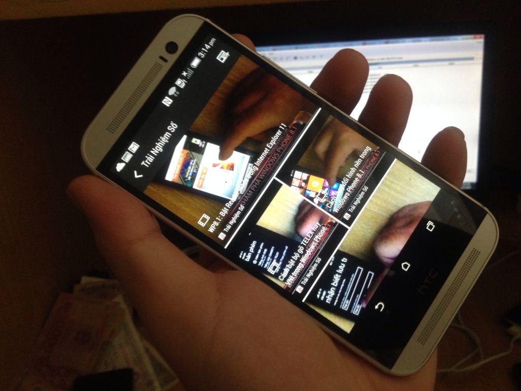 htc one m8 transfer blinkfeed - Thêm kênh vào Blinkfeed trên HTC One M8