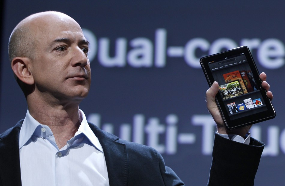 jeff bezos amazon - Sau Fire TV, Amazon sẽ ra Fire Phone?