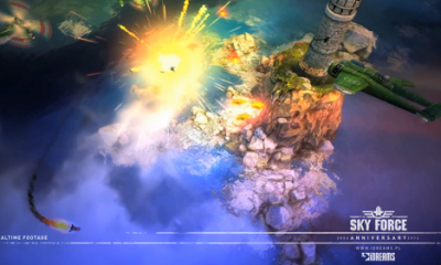 sky force 2014 400x240 - Sky Force: Tựa game kinh điển trở lại trên iOS