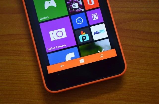 lumia 630 navigation bar - Mẹo Lumia 630: Đổi màu thanh điều hướng