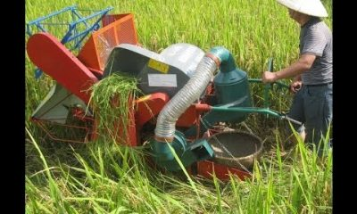 "may gat lua 400x240 - Máy gặt lúa ""Made in tự tui"""