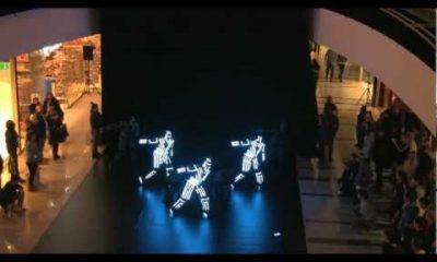 nhay ket hop anh sang 400x240 - Bài nhảy kết hợp ánh sáng độc đáo