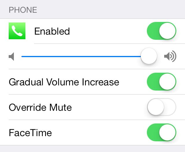 pocketmode 2 1 - PocketMode 2.0: Tăng âm cuộc gọi & tin nhắn cho iOS 7