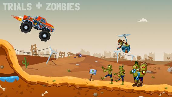 """zombie road trip trials 1 - Zombie Road Trip Trials: Đua xe cùng """"thây ma"""""""