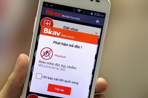 BMSxulyPtracker - Cách phát hiện và xử lý phần mềm nghe lén trên smartphone