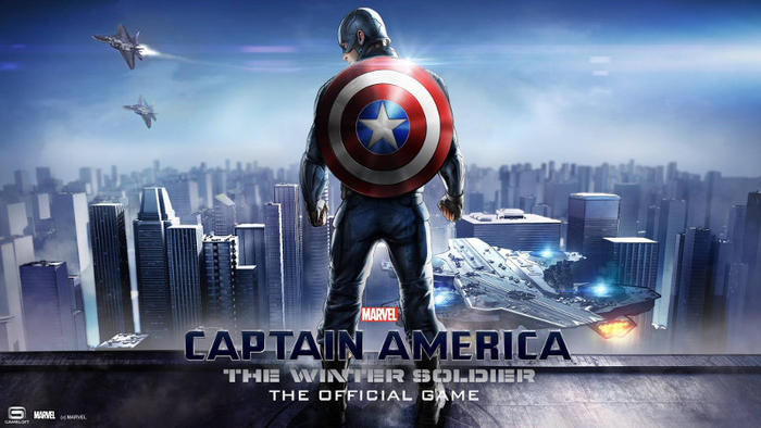 captain america - Đang miễn phí game Captain America: The Winter Soldier