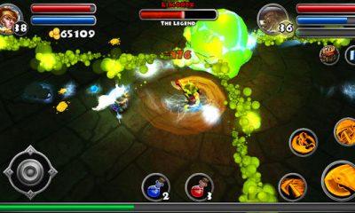 "dungeon quest 2 400x240 - Dungeon Quest: Chơi ""Diablo"" trên di động"