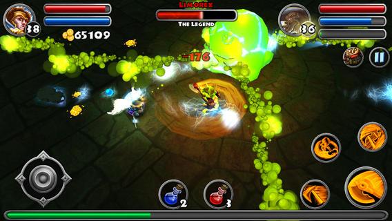 "dungeon quest 2 - Dungeon Quest: Chơi ""Diablo"" trên di động"