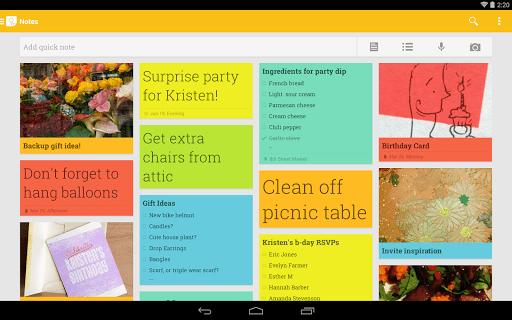 google keep 1 - Google Keep – Ứng dụng ghi chú tuyệt vời trên Android