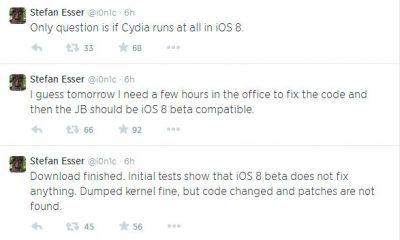 ios 8 jailbreak 400x240 - iOS 8 có thể sẽ bị jailbreak sớm